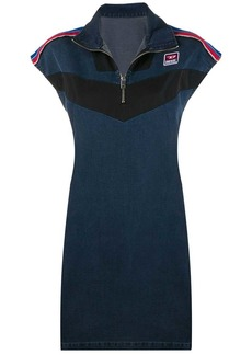 Diesel JoggJeans dress with technical inserts