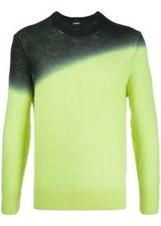 Diesel K-Treat gradient knitted jumper