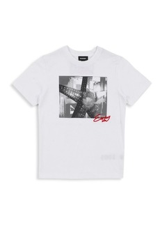 Diesel Kids Tangix Graphic T-shirt