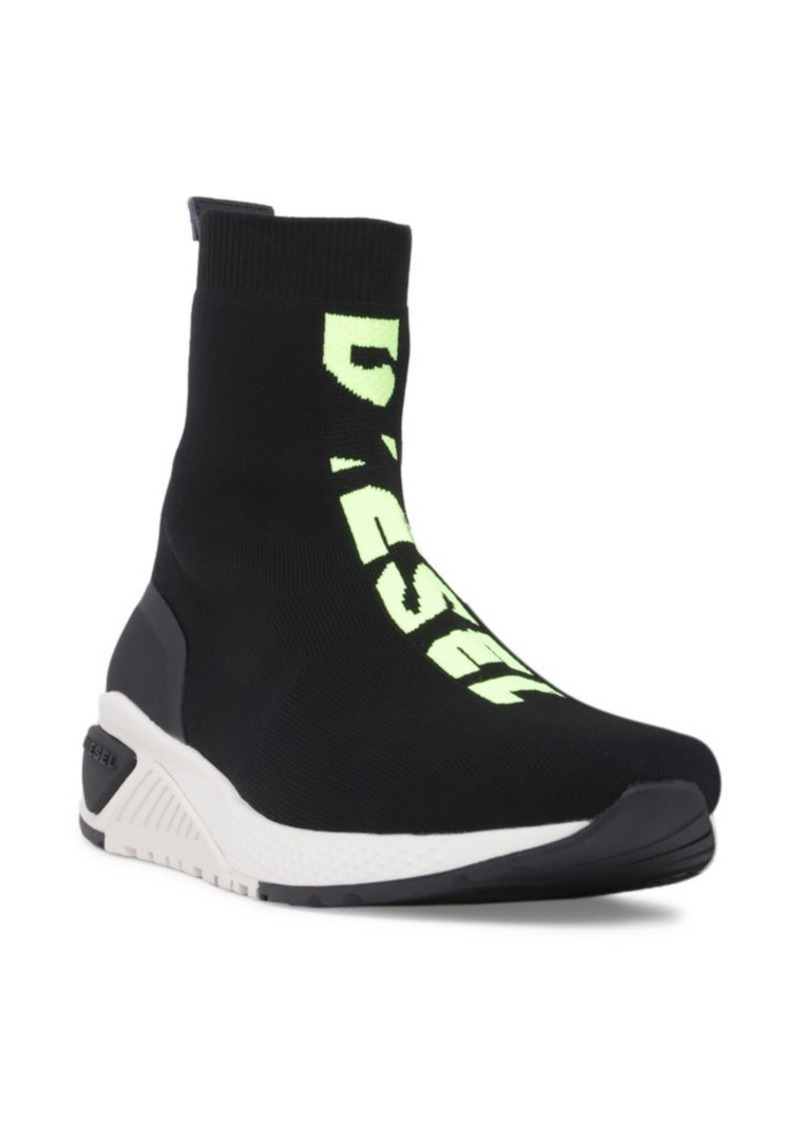 Diesel Knit Logo Sock Sneakers