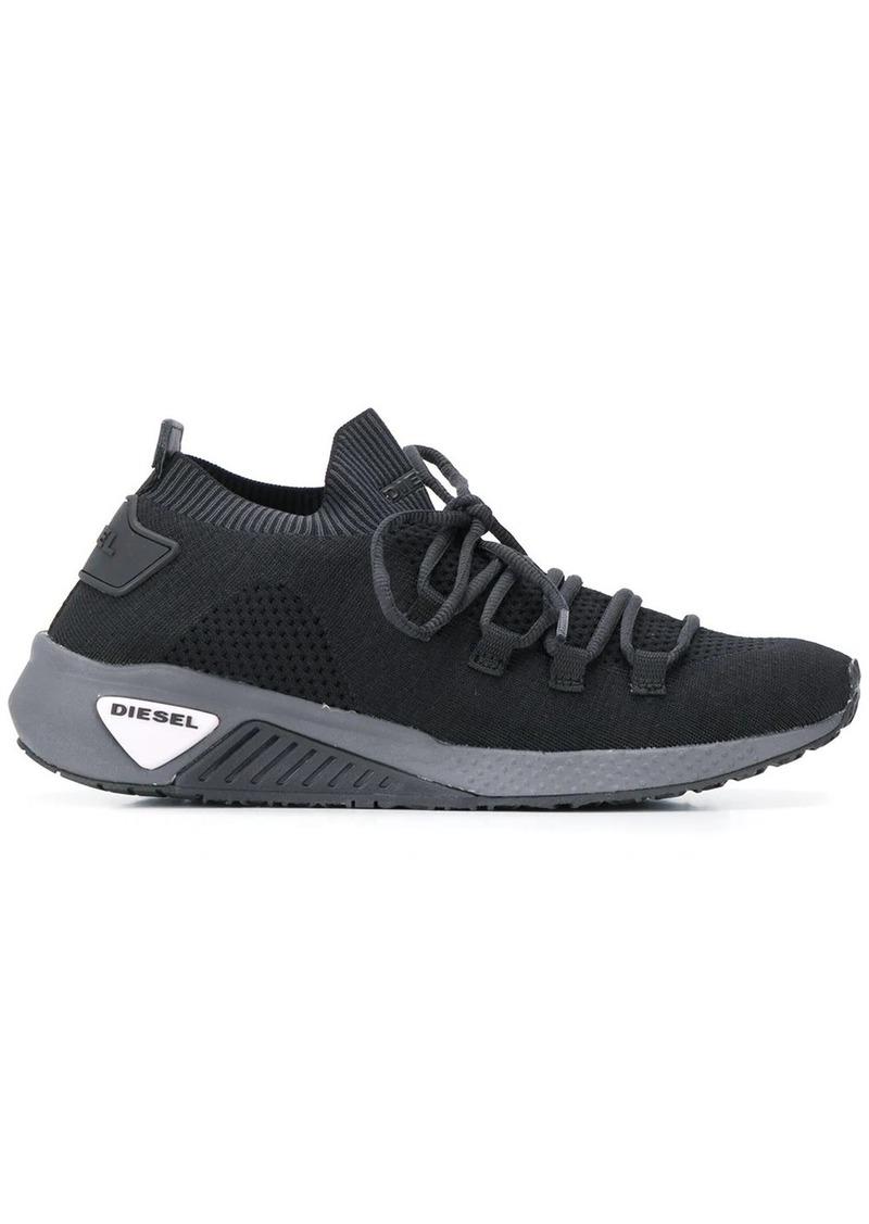 Diesel knitted slip-on sneakers