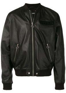 Diesel L-Pins-A leather jacket