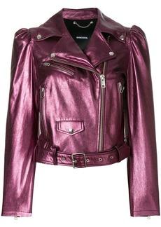 Diesel L-Sunset leather jacket
