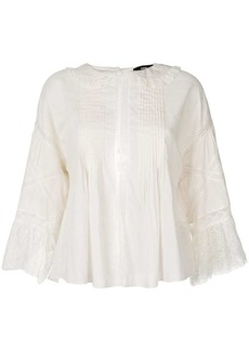 Diesel lace embroidered blouse