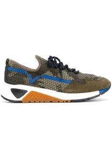 Diesel lace up running sneakers