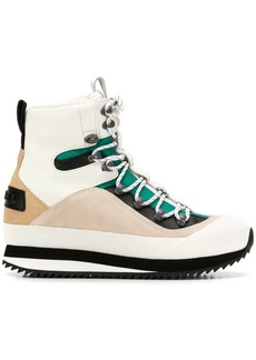 Diesel lace-up snow boots