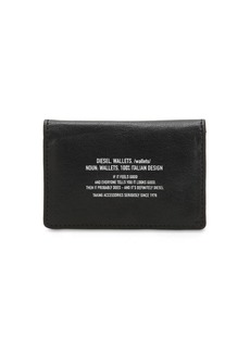 Diesel Leather Card Holder