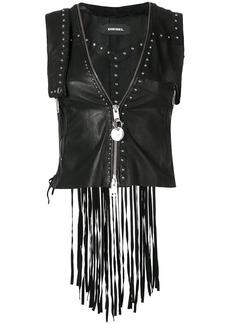 Diesel leather vest