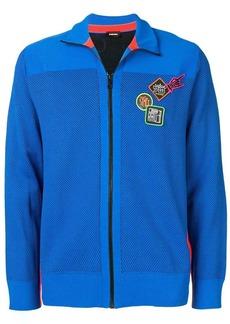 Diesel lightweight zipped jacket