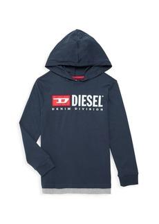 Diesel Little Boy's & Boy's Contrast Hoodie