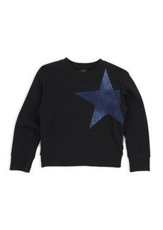 Diesel Little Boy's & Boy's Denim Star Sweatshirt
