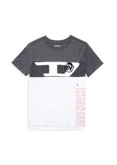Diesel Little Boy's & Boy's Vertical Art T-Shirt