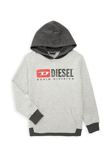 Diesel Little Boy's Graphic Cotton-Blend Hoodie