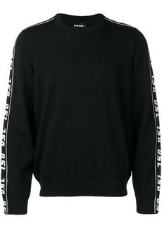 Diesel logo band sweatshirt
