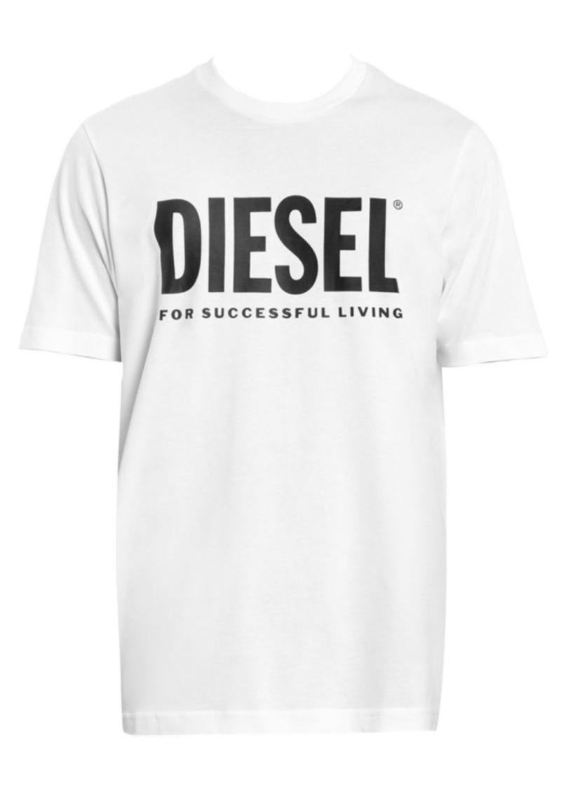 Diesel Logo Cotton Tee