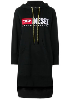Diesel logo hoodie dress