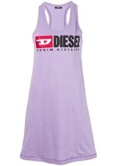 Diesel logo oversized tank top
