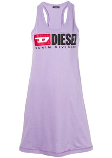 Diesel logo oversized tank top
