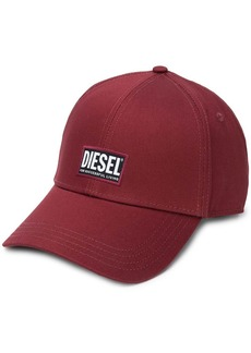 Diesel logo patch baseball cap