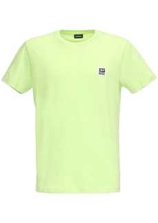 Diesel Logo Patch Cotton Jersey T-shirt