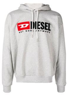 Diesel logo patch hoodie