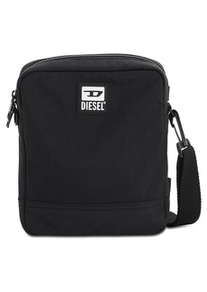 Diesel Logo Patch Nylon Crossbody Bag