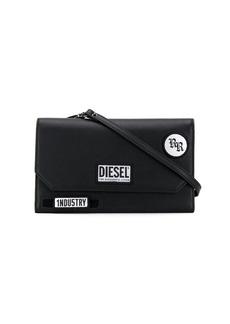 Diesel logo patch wallet