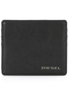 Diesel logo plaque cardholder