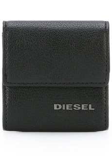 Diesel logo plaque coin purse