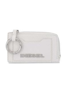 Diesel logo plaque purse