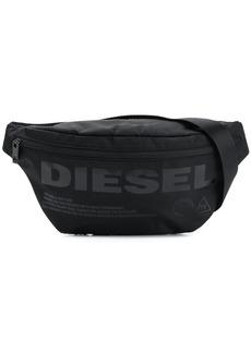 Diesel logo print belt bag