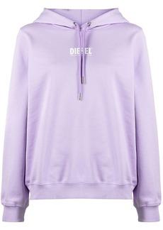 Diesel logo-print pullover hoodie