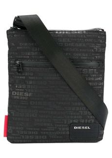 Diesel logo-print shoulder bag