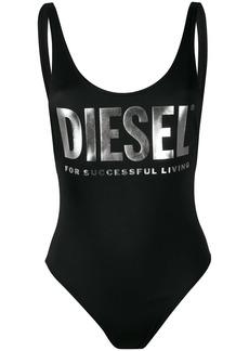 Diesel logo print swimsuit