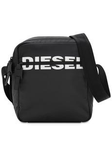 Diesel Logo Print Tech Crossbody Bag