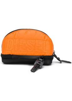 Diesel logo quilted purse