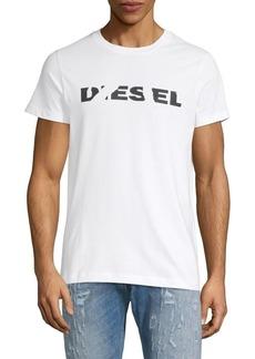 Diesel Logo Short-Sleeve Cotton Tee