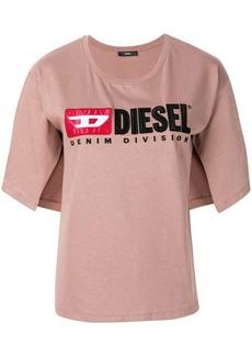 Diesel Logo split-sleeve T-Shirt