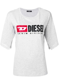 Diesel logo split-sleeve T-Shirt