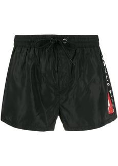 Diesel logo swim shorts