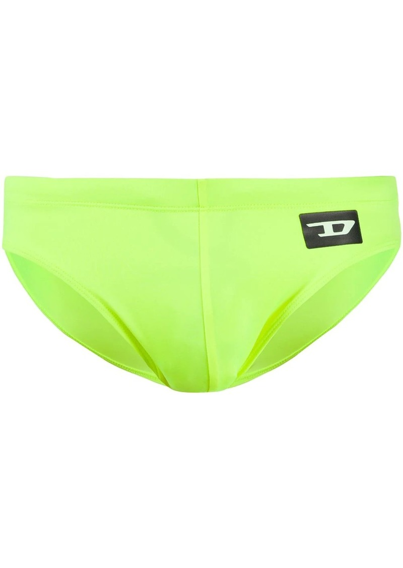 Diesel logo swim trunks