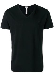 Diesel logo V-neck shirt