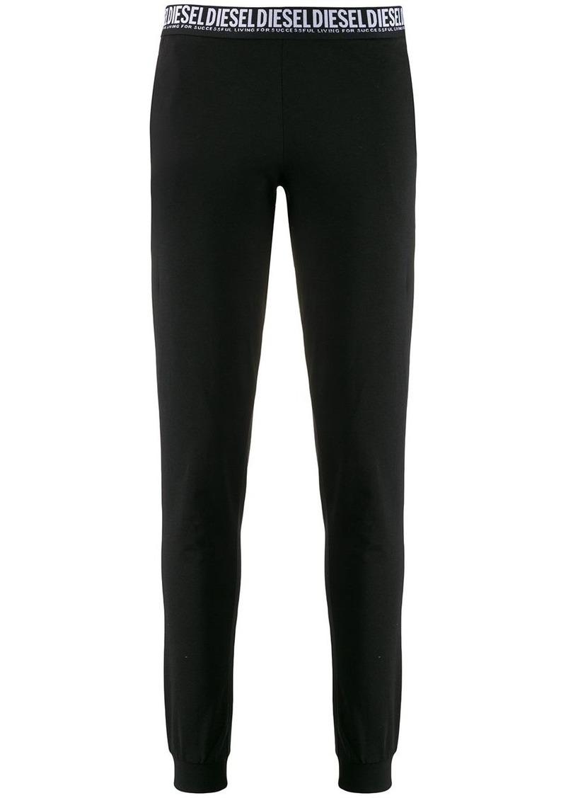 Diesel logo waistband leggings