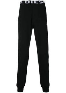 Diesel logo waistband track pants