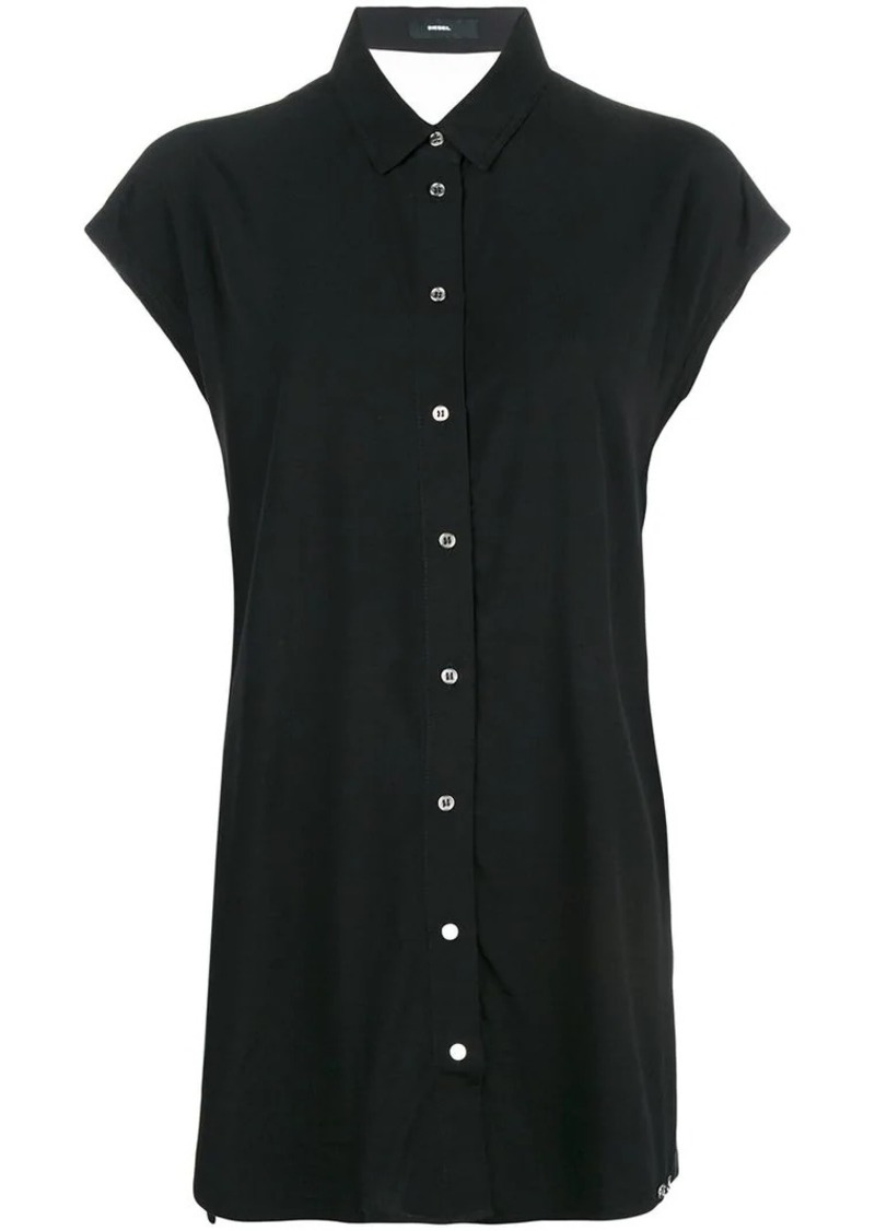 Diesel long button-up shirt