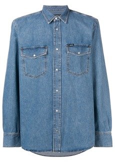Diesel long sleeve denim shirt