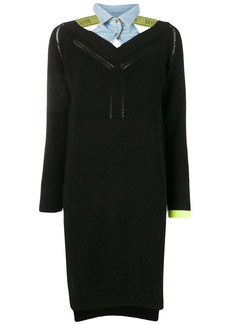 Diesel long-sleeve sweater dress