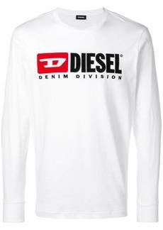 Diesel longsleeved logo T-shirt