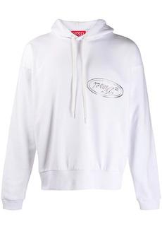 Diesel loose-fit logo hoodie