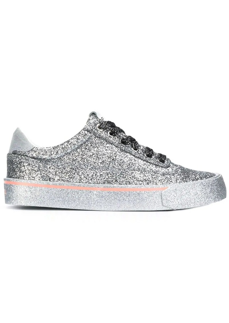 Diesel low glitter sneakers